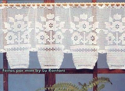 Rideaux au Crochet Fait Main (6)