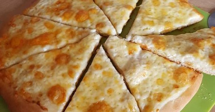cheese garlic pizza