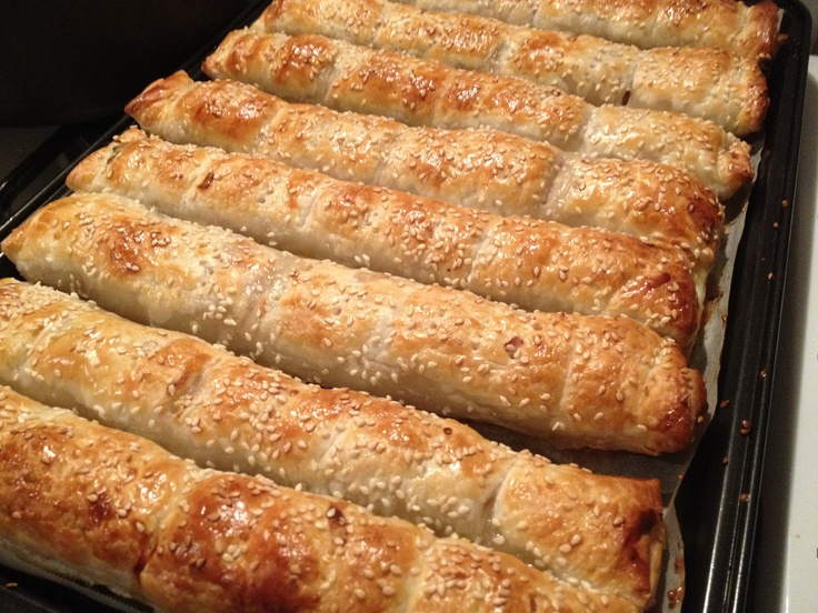A fam fav....GT recipe - Pork and caramelised onion and apple sausage rolls...