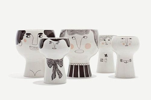 Flower Me Happy pots by Danish Meyer-Lavigne.