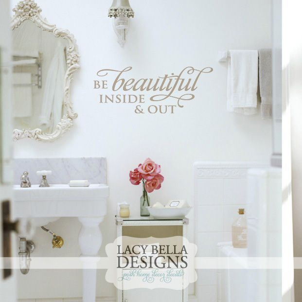 Beautiful Bathroom Quotes 29 best salon decor images on pinterest | salon ideas, hair salons