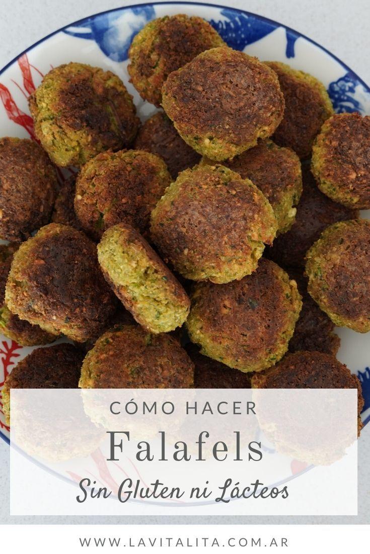 easy methods to make falafels recipe recipes with chickpeas Gluten Free Diet, Sin Gluten, Gluten Free Recipes, Vegan Recipes, Dessert Drinks, Dessert Recipes, Falafels, Kids Meals, Easy Meals