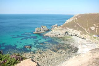 St Agnes: Home to some of North Cornwall's most popular beaches