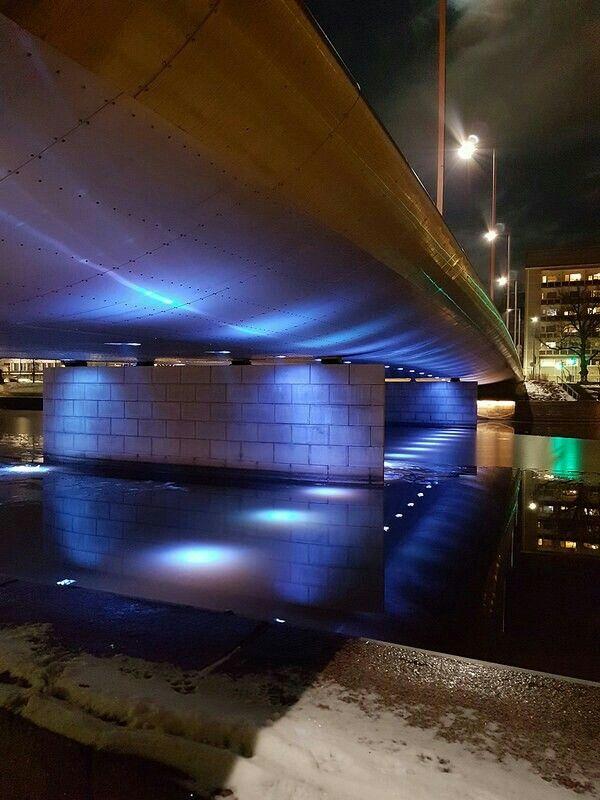 Myllysilta (Mill Bridge), Turku, Finland. By Nana Långstedt