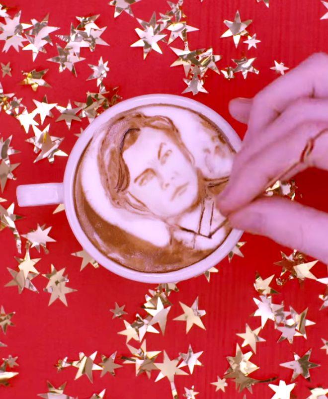 Every Leonardo DiCaprio Oscar-Nominated Role Drawn In Coffee #LeonardoDicaprio #Leo #Oscars #Nominations #Coffee #Art