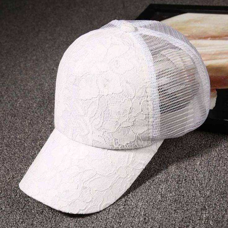 Hot Sale Baseball Caps Unisex Breathable Lace Rose Flowers Pattern Snapback Hats Women Men Casual Gorras Sunhat Y3 #Affiliate