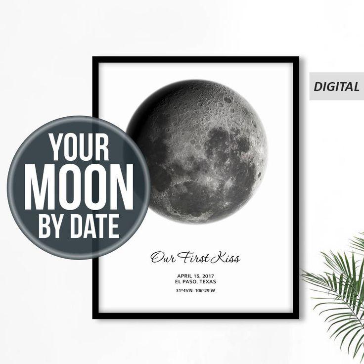 Personnalisé de Phase de lune, Phase de lune personnalisée, lune imprimé personnalisé, personnaliser affiche lune, lune impression numérique, Date de la lune, lune Phase impression, Pdf >>> Cette annonce est pour un téléchargement numérique. Aucun produit physique ne sera expédié et le