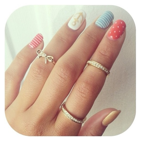 Sailor Style Nails