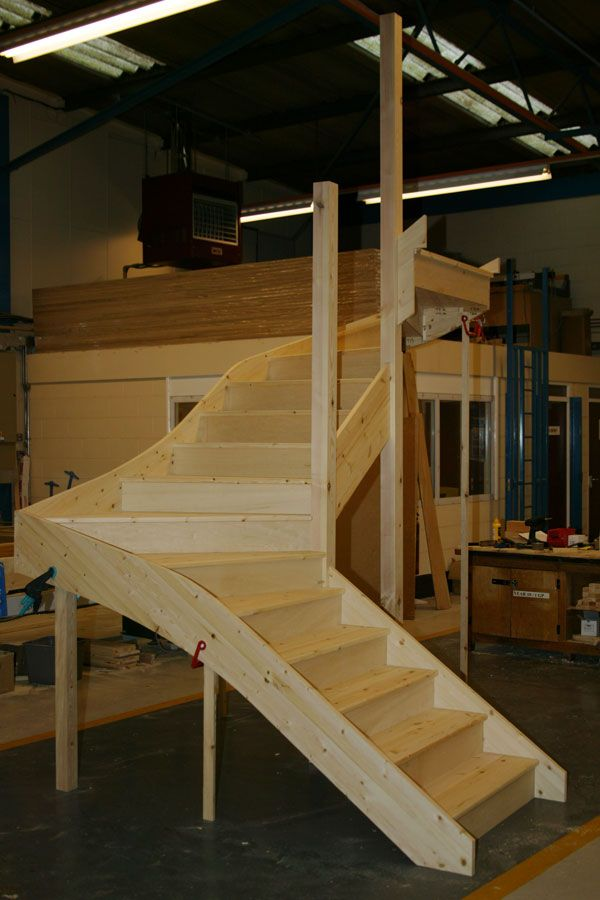 Best Pine Double Winder Staircases Staircase Design Timber 400 x 300