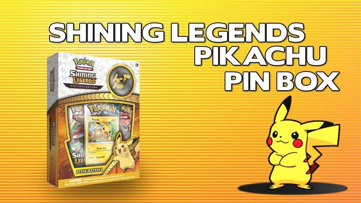 Opening A Pokemon Shining Legends Pikachu Pin Collection Box!