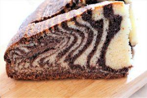 Torta zebrata alta e soffice la ricetta del dolce bicolore