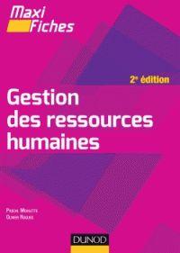 Pascal Moulette et Olivier Roques - Gestion des ressources humaines. - Agrandir l'image