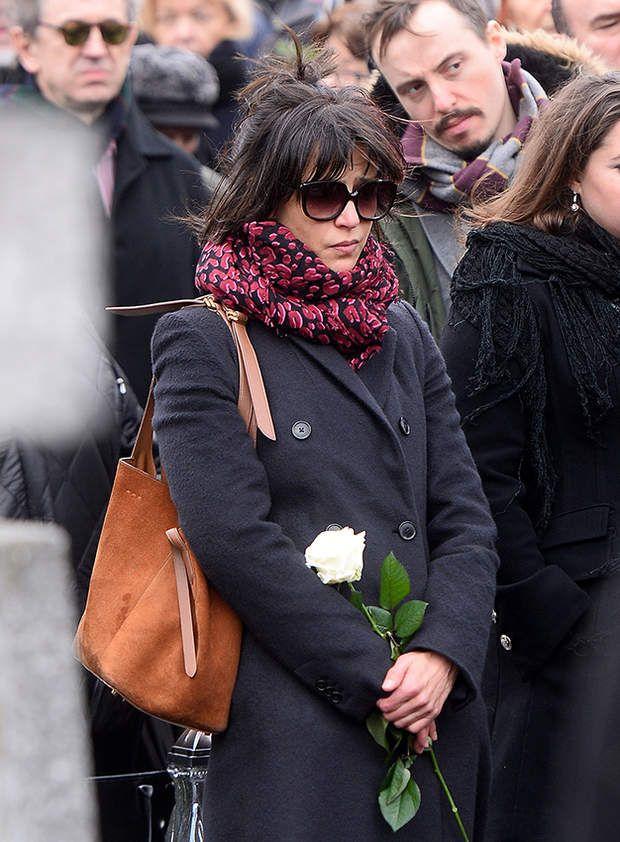 Sophie Marceau aux obsèques d'Andrzej Zulawski