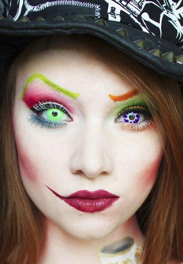 Les 134 meilleures images du tableau mu sur pinterest maquillage artistique maquillage - Maquillage chapelier fou ...