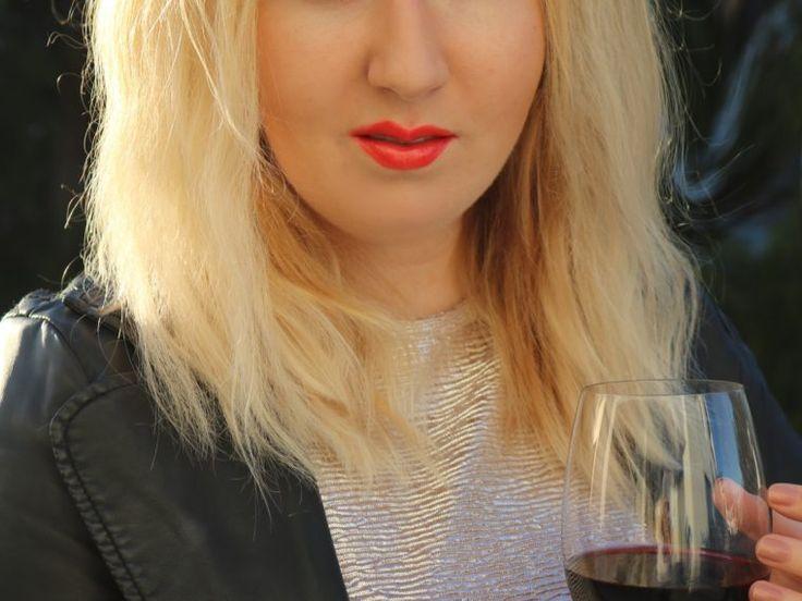 TRESemme Volume hair, medium blonde NYFW inspired
