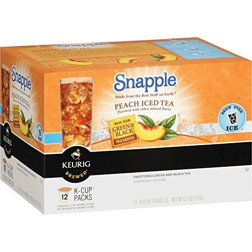 Snapple Peach Iced Tea Keurig KCups (12 K-Cups) ** Continue with the details at the image link.