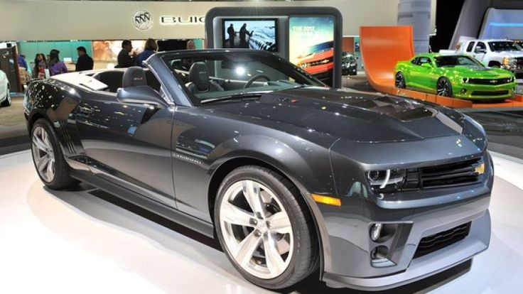 The 2012 Camaro ZL1 Convertible was unveiled at the LA Auto Show with the same 580-horsepower LS9 V8 powerplant of the ZL1 Coupe, but with a stowable top. Team Chevrolet is happy to point out that this sledge-hammer-of-a-drop-top is the most powerful production Chevy ever produced in the brand's 100-year history, but its open air nature doesn't mean it's a performance slacker.