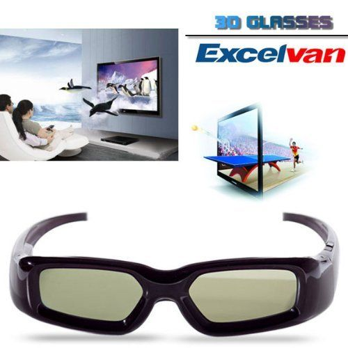 Excelvan 3D Active Glasses Black For Samsung SSG-3100GB Compatible With 2011 3D TV by Excelvan. $32.99. Compatible with Mitsubishi MDR series