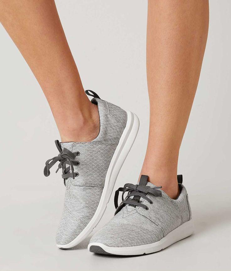 TOMS Del Rey Shoe - Women's Shoes in Grey Diamond Melange | Buckle