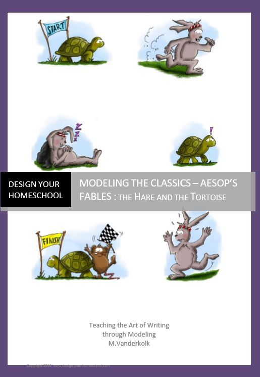 Aesop's Fables Ebook - Language Arts lessons based on fables for kids by www.design-your-homeschool.com