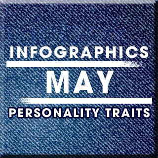 [Infographics] May Birthday Horoscope Personality | Sun Signs