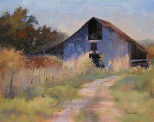 Barbara Jaenicke - Work Detail: The Horse Barn