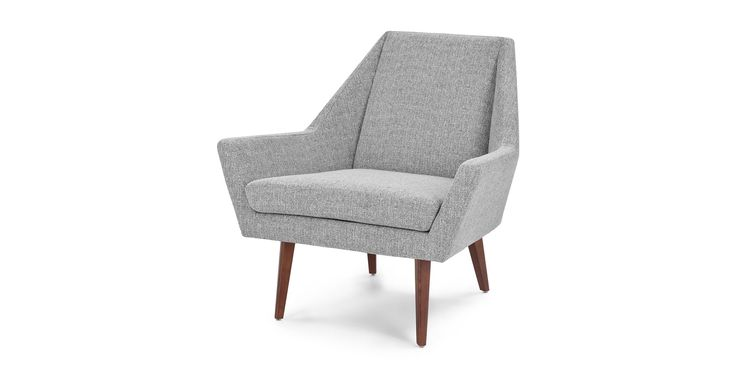 Angle Speckle Gray Chair Nyc Apartment In 2019 Grey