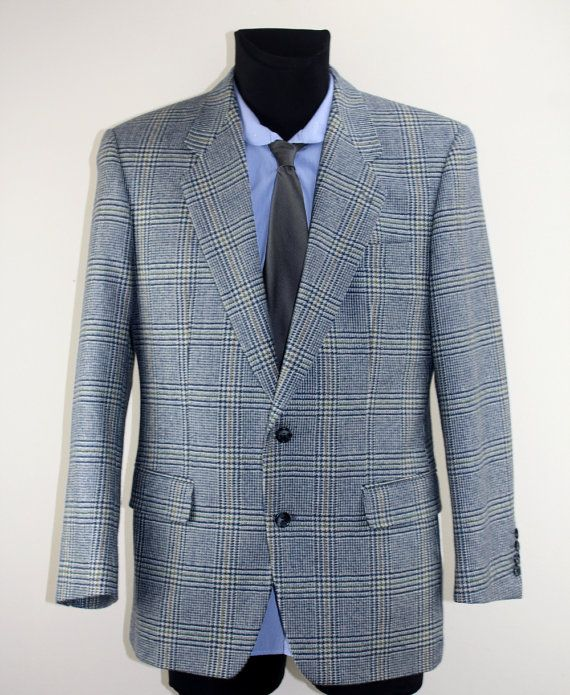 Vintage suit jacket shell suit thrift by DesignerSecondHand