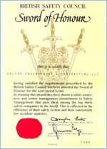 #Sword of Honour for #PMohamedali. Read more details here: http://galfar.com/honours_and_awards