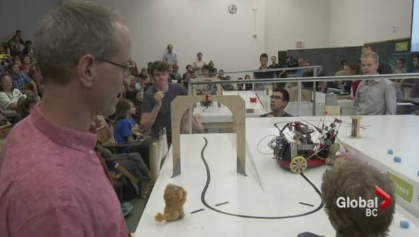 See how UBC engineering students race pet rescue robots here! http://owl.li/QDv4P