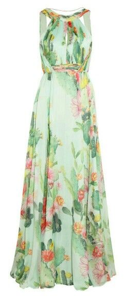green dress. fashion