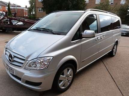 Used 2014 (14 reg) Silver Mercedes-Benz Viano 2.2 CDI Ambiente [Long] 5dr for sale on RAC Cars