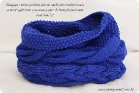 Resultado de imagem para modelos de golas de trico