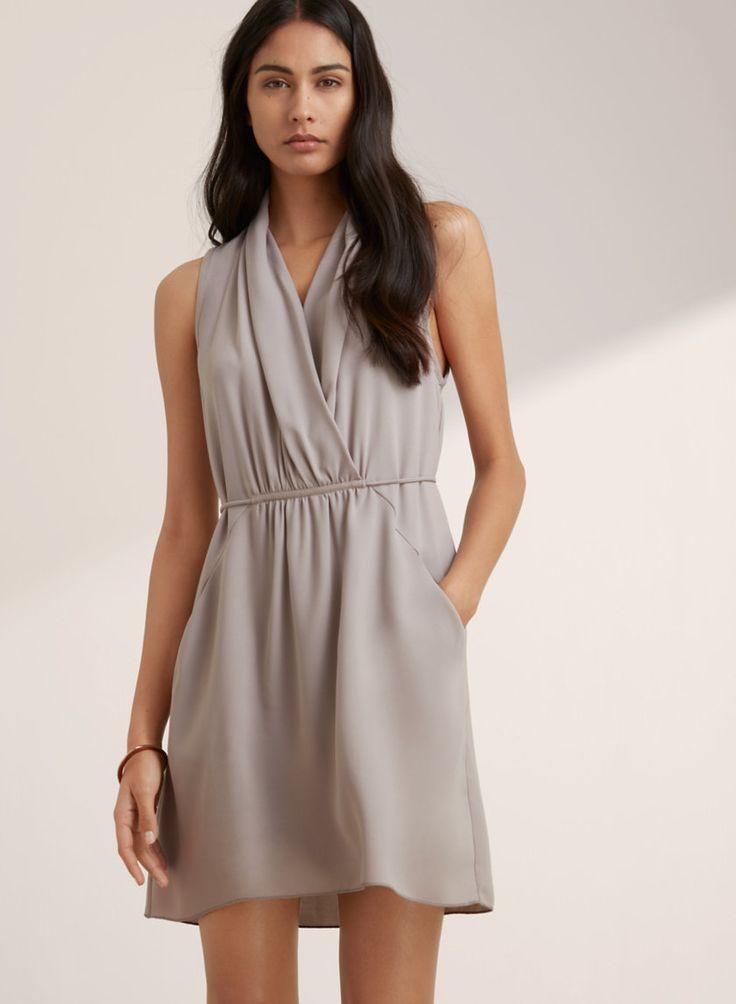 """Sabine"" dress from Aritzia - want it in ""mauvish""!"