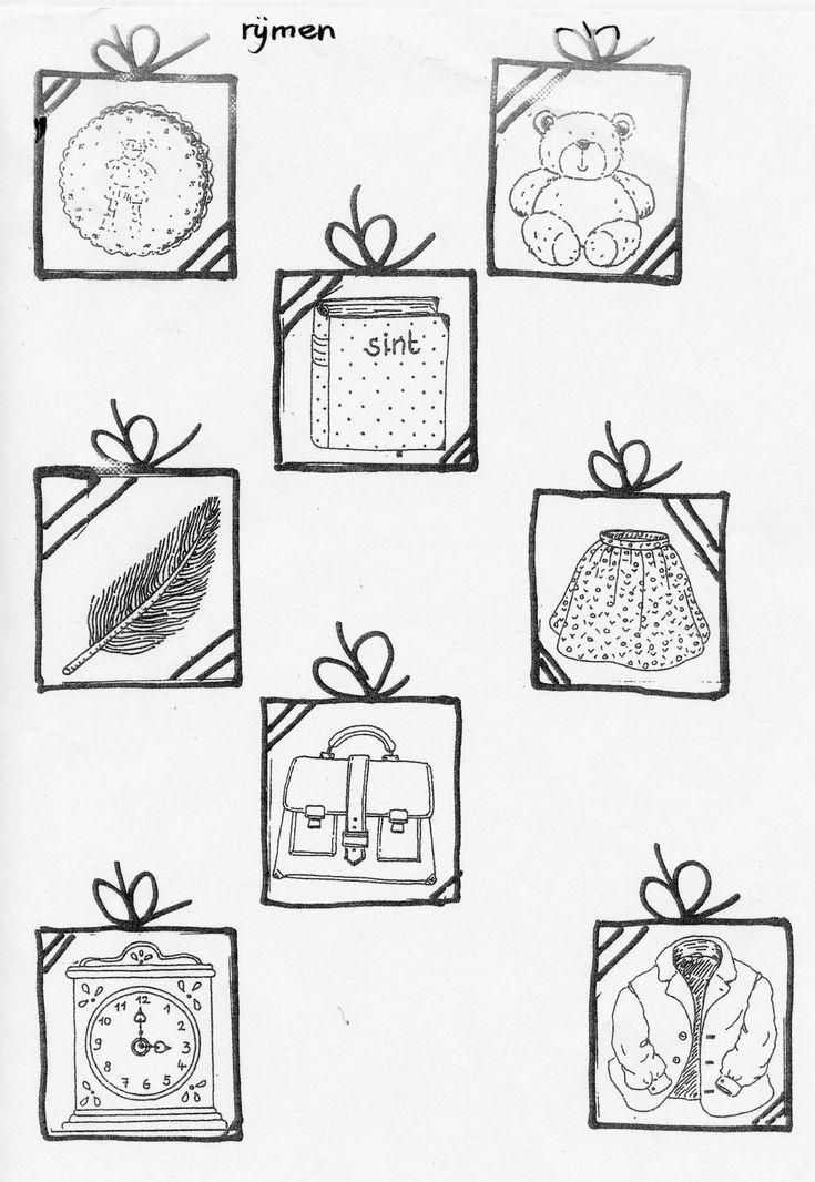 rijmen met cadeautjes
