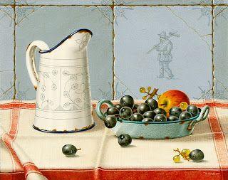 Коллекция картинок: Натюрморты Johannes Eerdmans - минимализм и нежнос...