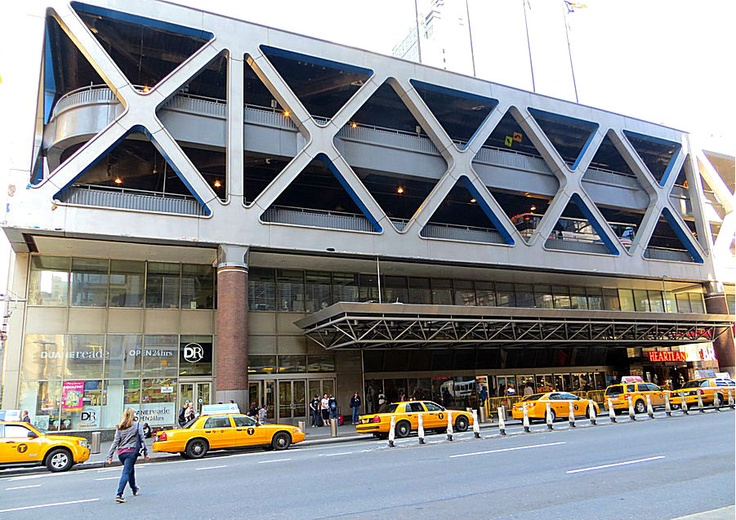 Port Authority Bus Terminal, Eighth Avenue and West 42nd Street, New York City. May 12, 2013.