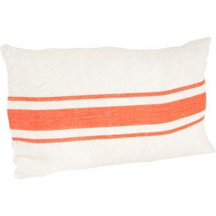 Fairfax Striped Design Jute Throw Pillow