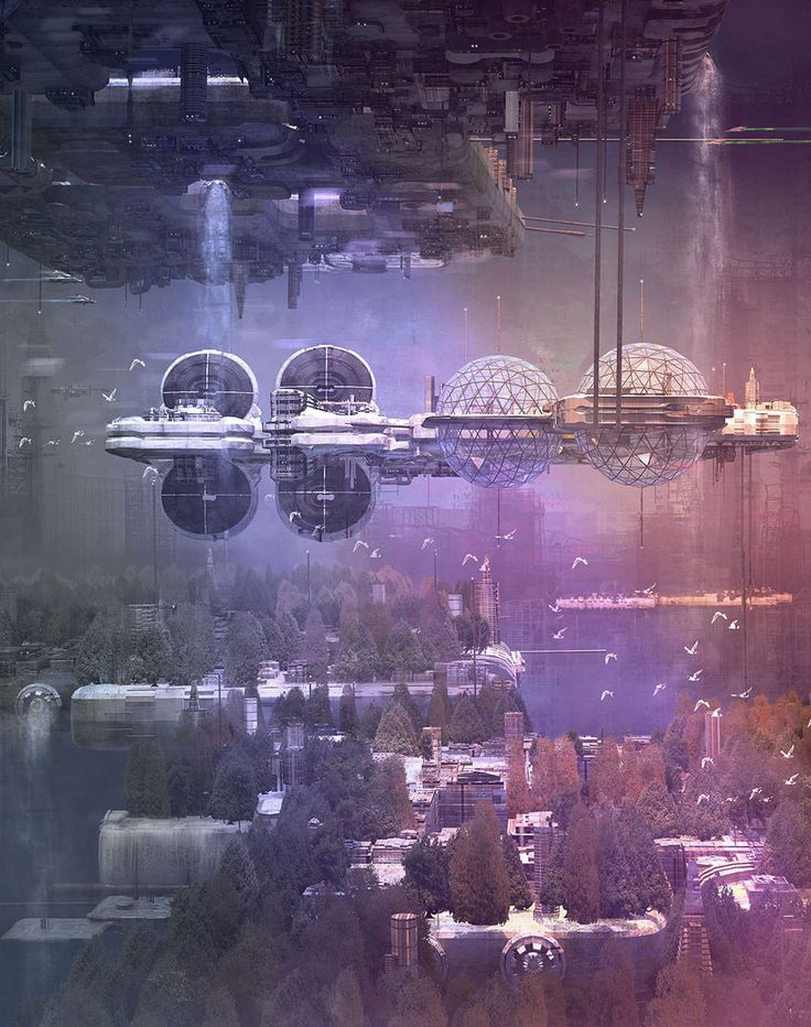 The Architect's Time Machine: 7 Sci-Fi Renders That Will Take You Back to the Future - Architizer