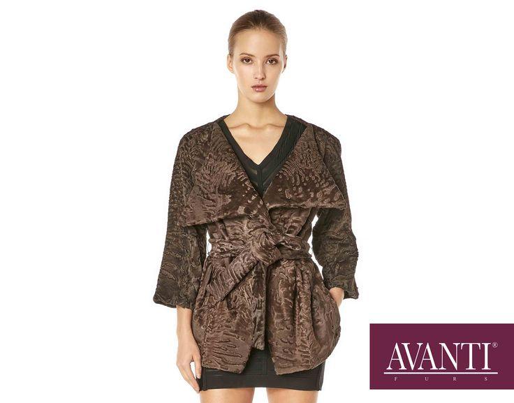 AVANTI FURS - MODEL: 1895 Z SWAKARA JACKET #avantifurs #fur #fashion #swakara #luxury #musthave #мех #шуба #стиль #норка #зима #красота #мода #topfurexperts