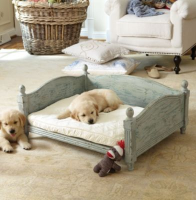 Stockholm Dog Bed - Wood Pet Bed, Dog Furniture, Pet Bed |