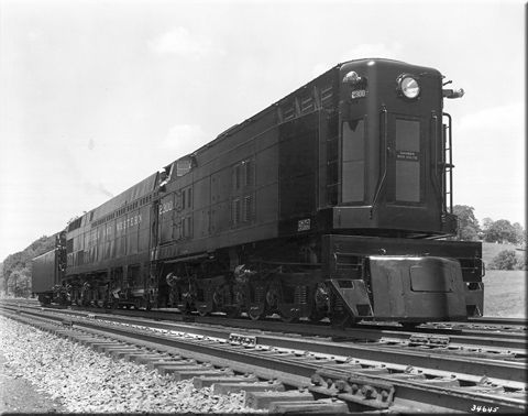 The N&W's Jawn Henry: The Norfolk & Western's experimental Jawn Henry was the last in a short series of steam turbine locomotives tested by three different railroads between the 1930s and 1950s including the Pennsylvania and Chesapeake & Ohio.