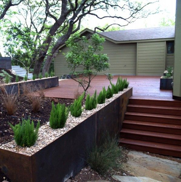 Modern Railing Planters Custom By Rushton: 104 Best Images About Ferns On Pinterest