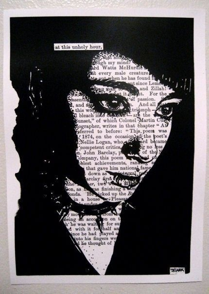 Black Out Poetry A Collection Of Ideas To Try About