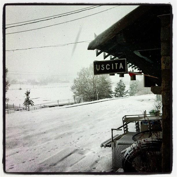 #Station #Train #sila #mountain #snow #white #nature #calabria #italy in #silvana #mansio | Flickr – Condivisione di foto!