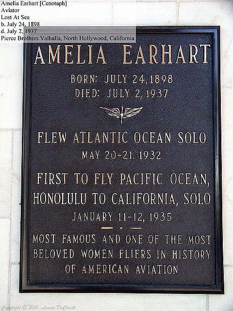 Earhart, Amelia   jalbum  Image 1 of 16