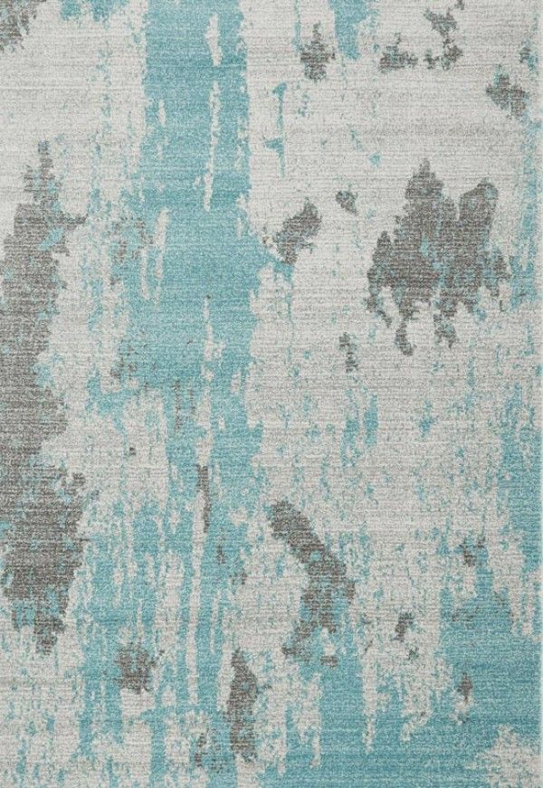 Nova NV15 Painterly Duck Egg Rug for Sale - CapitalRugsUK