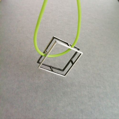 """Frame Me"" Square Pendant - Frame Me Collection"