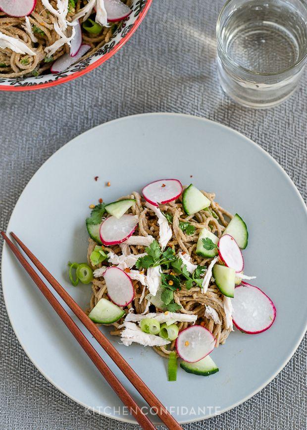 Salads on Pinterest | Quinoa salad, Soba noodles and Chicken salads ...