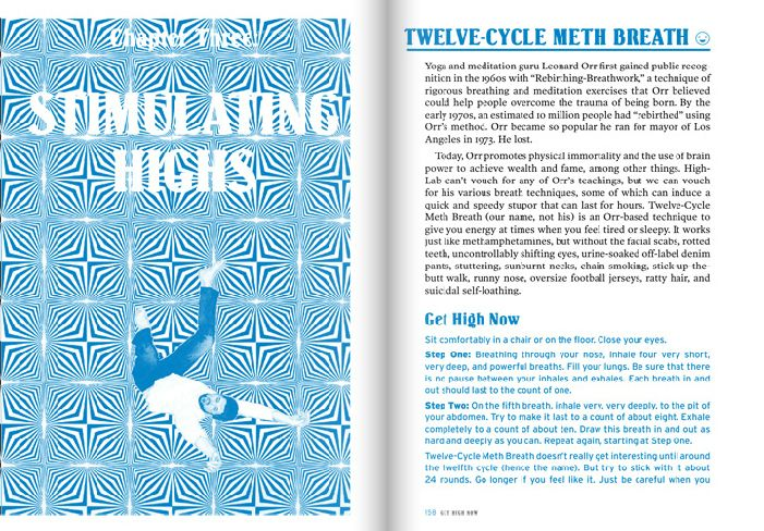 "12 Cycle #Meth #Breath: Page 26-27, ""Get High Now"" #trippy #High #SUPERHIGH"